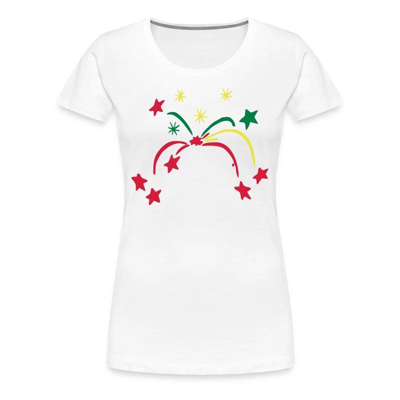 Feuerwerk - Frauen Premium T-Shirt