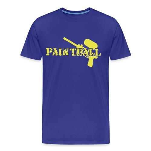 PB Yellow - Männer Premium T-Shirt