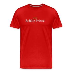 Schaele Printe - Männer Premium T-Shirt