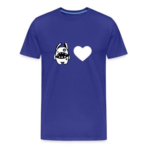 elmö mörölööv - Miesten premium t-paita