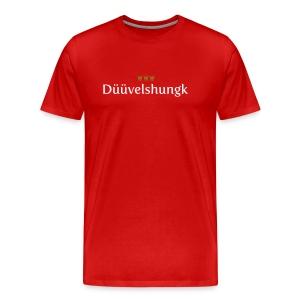 Dueuevelshungk - Männer Premium T-Shirt
