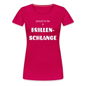 Brillenschlange (for Women) - Frauen Premium T-Shirt