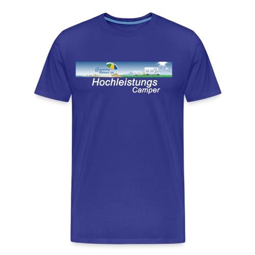 T-Shirt Männer royalblau - Männer Premium T-Shirt