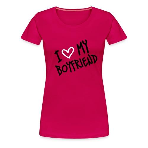 Love boyfriend - Maglietta Premium da donna