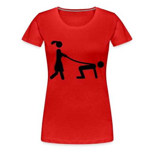 chef girl - Frauen Premium T-Shirt
