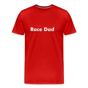 Race Dad Tee - Men's Premium T-Shirt
