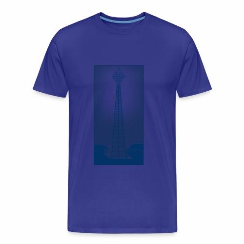 VINTAGE FLOODLIGHT - EVENING - Men's Premium T-Shirt