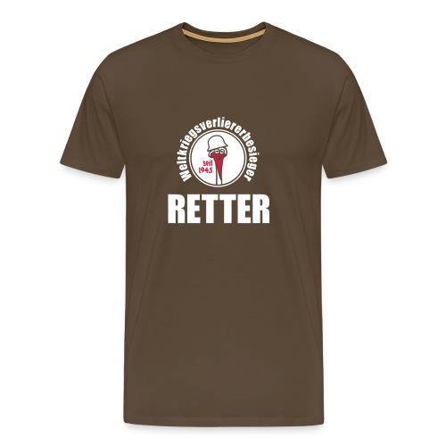 Retter-Hemd - Männer Premium T-Shirt