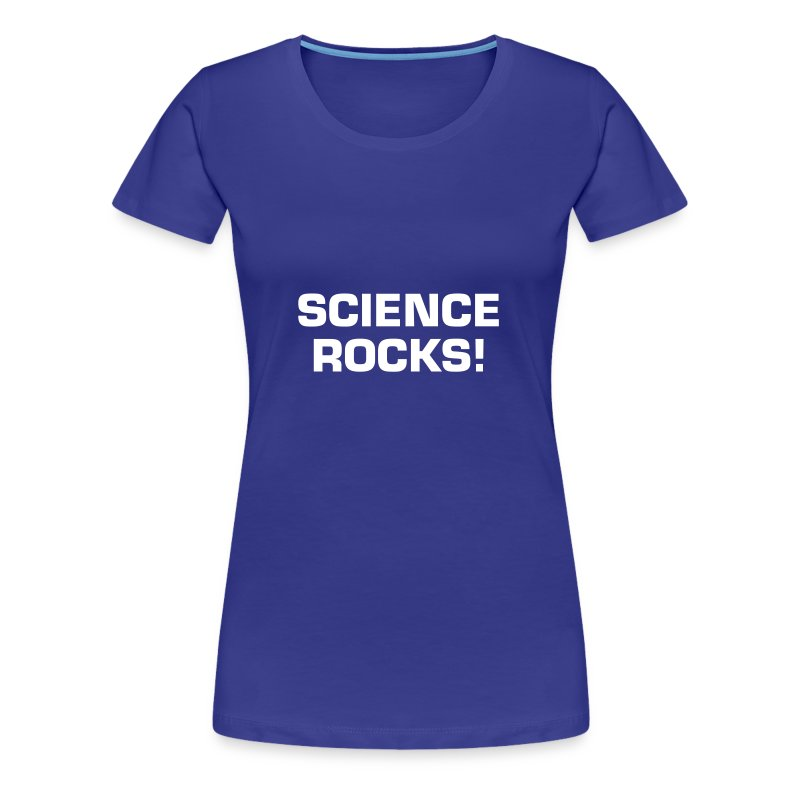 Science Rocks - Women's Premium T-Shirt