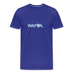 WAFLL - ACRONYM FROM AN OLD LEEDS CHANT - Men's Premium T-Shirt