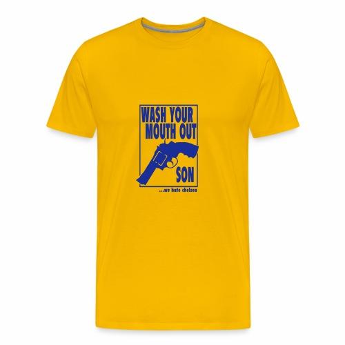 WASH... - WE HATE CHELSEA - Men's Premium T-Shirt