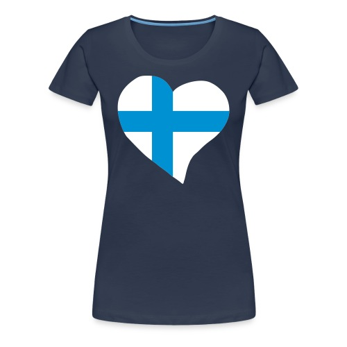 Suomi - Naisten premium t-paita