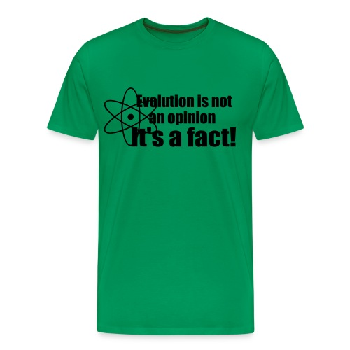 Evolution mannenshirt - Mannen Premium T-shirt