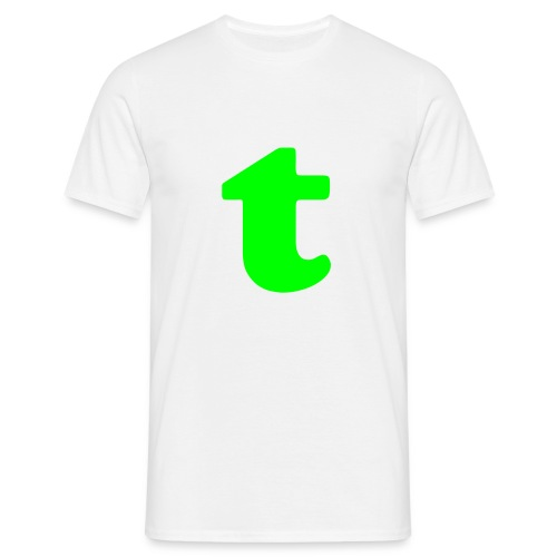Green tea - Healthy music - Mannen T-shirt