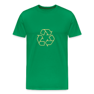 T-shirts ~ Mannen Premium T-shirt ~ Recycle open