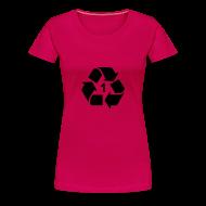 T-shirts ~ Vrouwen Premium T-shirt ~ Recycle 1 dicht