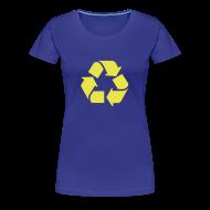 T-shirts ~ Vrouwen Premium T-shirt ~ Recycle dicht