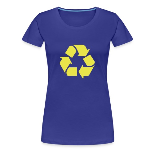 Recycle dicht - Vrouwen Premium T-shirt