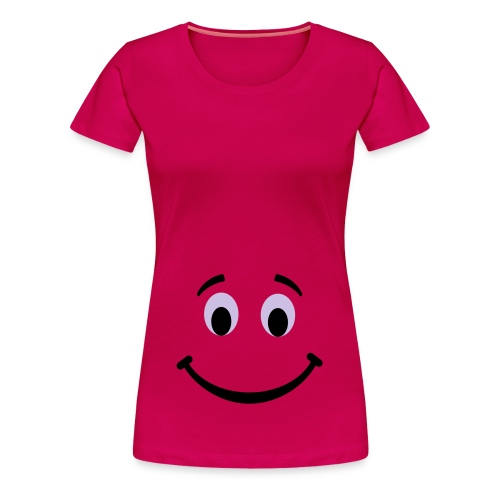 Smile XXL pink - Women's Premium T-Shirt