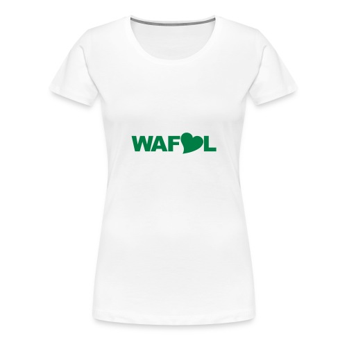 WAFLL - ACRONYM FROM AN OLD LEEDS CHANT - Women's Premium T-Shirt