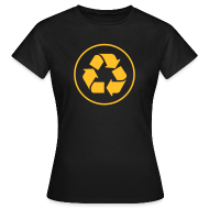T-shirts ~ Vrouwen T-shirt ~ Recycle circle