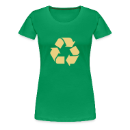 T-shirts ~ Vrouwen Premium T-shirt ~ Recycle dicht