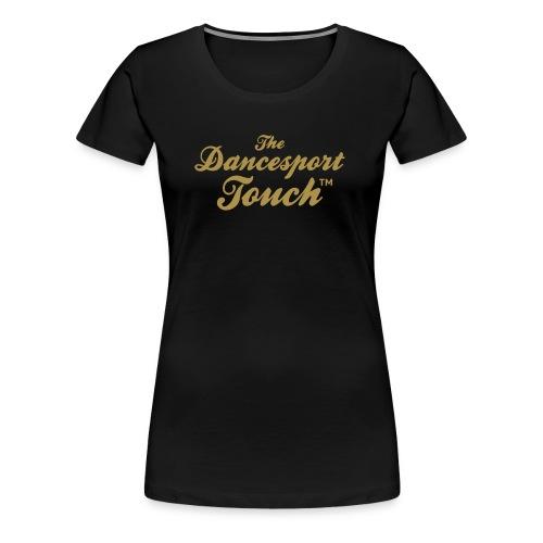 Logo TDT™ Or - T-Shirt F - T-shirt Premium Femme