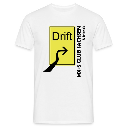 Club T-Shirt Motiv Drift sand - Männer T-Shirt