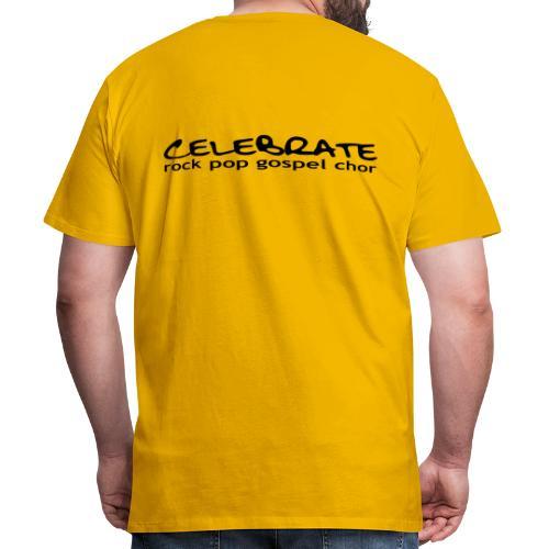 Männer T-Shirt klassisch - Logo hinten - Männer Premium T-Shirt