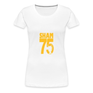 SHAM 75 - EUROPEAN CUP 1975 REFERENCE - Women's Premium T-Shirt