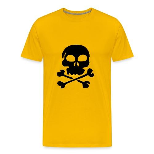 Skull & bones - Mannen Premium T-shirt
