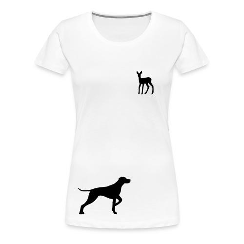 Sweet Doggy Dreams: Reh - Frauen Premium T-Shirt