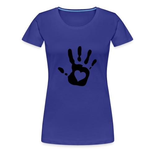HEART IN HAND - Women's Premium T-Shirt