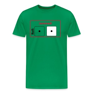 CC Jammed! T-shirt (green) - Men's Premium T-Shirt