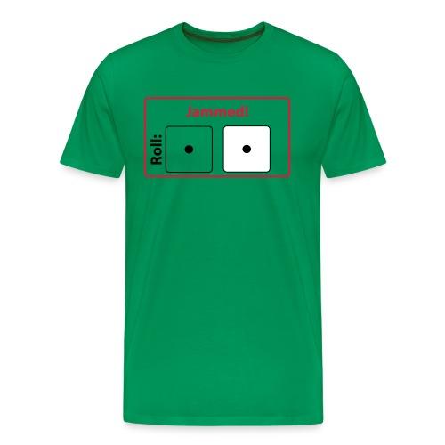 CC Jammed! T-shirt (green) - Men's Premium T-Shirt