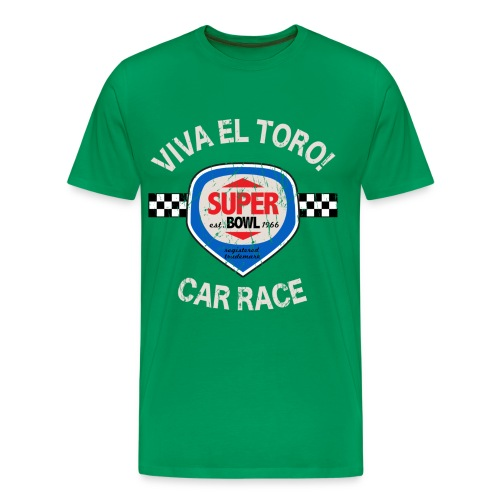 Viva El Toro! Car Race Super Bowl - Männer Premium T-Shirt