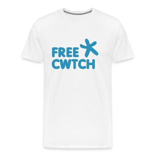 Give a bigger cwtch at this years festivals - Men's Premium T-Shirt