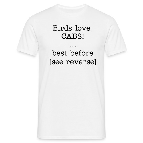 best before - Men's T-Shirt