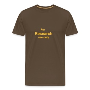 For research use only - Men's Premium T-Shirt
