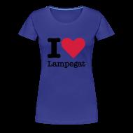 T-shirts ~ Vrouwen Premium T-shirt ~ I Love Lampegat