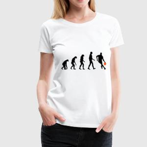 Evolution Basketball T-Shirts - Women's Premium T-Shirt