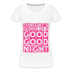 good good night (F) - Women's Premium T-Shirt