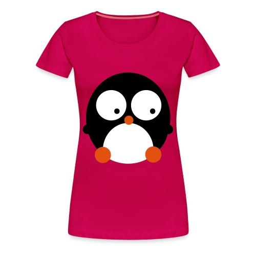 PINGÜINO - Camiseta premium mujer
