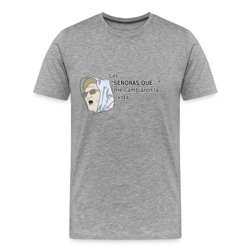 Redes sociales - Señoras que... - chico manga corta - Camiseta premium hombre