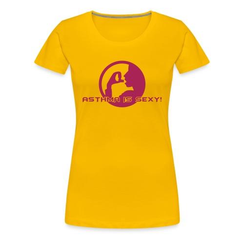 Asthma ist sexy! Support JB Edition - Frauen Premium T-Shirt