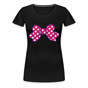 CUTE RIBBON dark (bis 3XL) - Frauen Premium T-Shirt