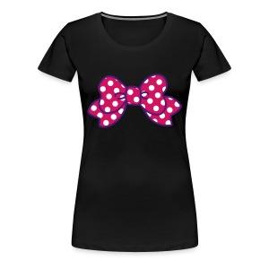 CUTE RIBBON dark (bis 3XL) - Frauen Premium T-Shirt