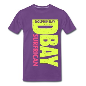 Dolphin Bay ...  D-Bay SURFRICAN - Men's Premium T-Shirt