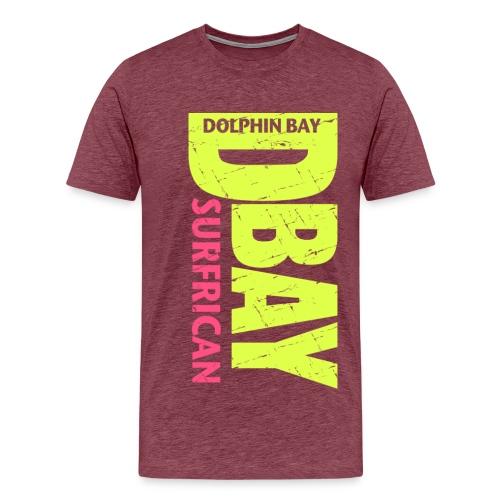 Dolphin Bay ...  D-Bay SURFRICAN - Men's Premium T-Shirt