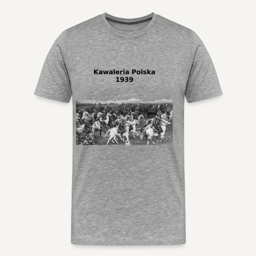 Kawaleria polska 1939 - Koszulka męska Premium